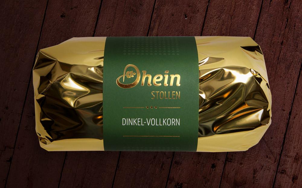 Dhein Stollen Dinkel-Vollkorn