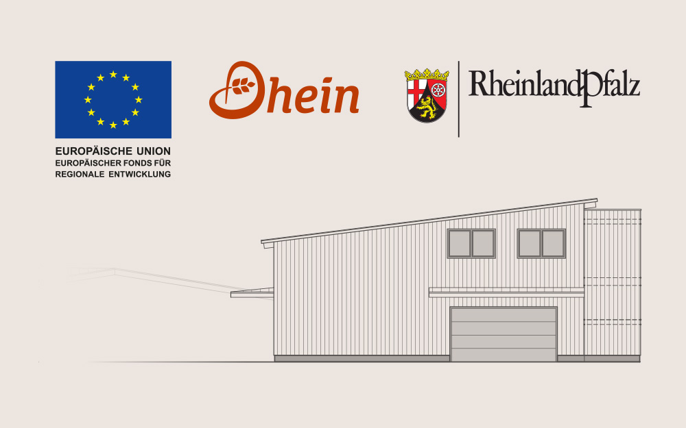 Europäische Union gefördertes Anbauprojekt